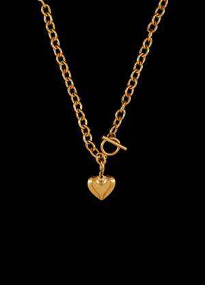 goudkleurige ketting Amore Connesso